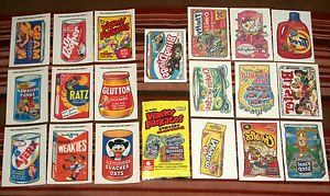 2005 WACKY PACKAGES ANS2 COMPLETE SETS of *CLEAR CLINGS & TATTOO'S* COMBO DEAL