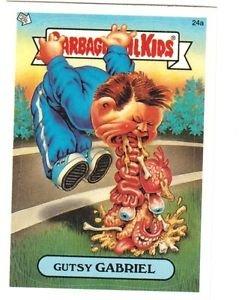 "2003 GARBAGE PAIL KIDS ALL NEW SERIES 1 {ANS1} ""GUTSY GABRIEL"" #24a STICKER CARD"