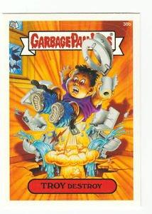 "2003 GARBAGE PAIL KIDS ALL NEW SERIES 1 {ANS1} ""TROY DESTROY"" #38b STICKER CARD"