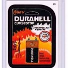 "2015 WACKY PACKAGES SERIES 1 ""DURAHELL"" #23 STICKER CARD"