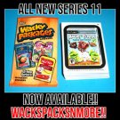 2013 WACKY PACKAGES ALL NEW SERIES 11 {ANS11} COMPLETE 55 STICKER SET + WRAPPER