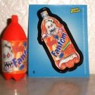 "WACKY PACKAGES ERASER SERIES 2 ""FANTOM"" ERASER & MATCHING STICKER #9"