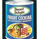 "TOPPS WACKY PACKAGES 1982 SERIES ALBUM STICKER ""DOESN'T DELIGHT COCKTAIL"" #72"