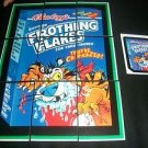 "2011 WACKY PACKAGES ALL NEW SERIES 8 (ANS8) ""FROTHING FLAKES"" PUZZLE + MORE!"