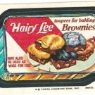 "1974 WACKY PACKAGES ORIGINAL 10TH SERIES ""HAIRY LEE CAKE"" STICKER"