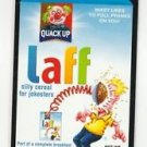 "2017 Wacky Packages 50th Anniversary OVERSIZE ART CARD ""LAFF CEREAL"" #9"