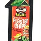 "1986 WACKY PACKAGES ALBUM SERIES STICKER ""PLASTER CHIPS"" #43 ONLY 99 CENTS"