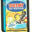 "1979 WACKY PACKAGES 2ND SERIES ""DUZN'T"" #85 STICKER CARD"
