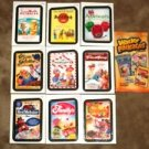 "2013 WACKY PACKAGES ALL NEW SERIES 11 {ANS11} ""RUDE FOOD"" COMPLETE INSERT SET"