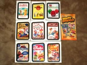 """2013 WACKY PACKAGES ALL NEW SERIES 11 {ANS11} """"RUDE FOOD"""" COMPLETE INSERT SET"""