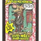 "WACKY PACKAGES 1991 SERIES ""FLEA-WEE VERMIN"" #39 STICKER CARD"