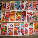 2011 CEREAL KILLERS 1ST SERIES LOT OF 25 CARDS like WACKY PACKAGES LOT H