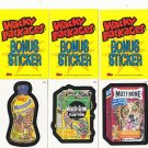 2006 WACKY PACKAGES ALL NEW SERIES 3 (ANS3) **THREE BONUS STICKERS** B4,B5,B6