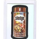 "2014 WACKY PACKAGES CHROME SERIES 1 ""SLEDGE"" #90 REFRACTOR CARD"