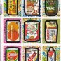 2008 Wacky Packages Flashback 2 LOT OF EIGHTEEN DIFFERENT STICKER CARDS.COOL