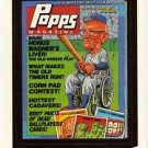 "WACKY PACKAGES 1991 SERIES ""POPPS MAGAZINE"" #14 STICKER CARD"