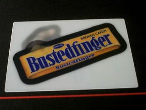 """2008 WACKY PACKAGES FLASHBACK SERIES 2 """"{FB2} BUSTEDFINGER"""" MOTION CARD #3"""
