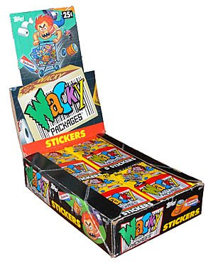 WACKY PACKAGES 1991 SINGLES ( PICK ANY 3 ) GREAT PRICE!