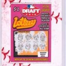 """2016 WACKY PACKAGES BASEBALL SERIES 1 LACE BORDER """"DRAFT LOTTERY"""" #63"""