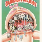 "1986 GARBAGE PAIL KIDS ORIGINAL 5th SERIES ""DENTAL FLOSSIE"" #203b  NM"