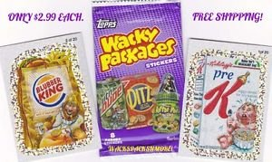 2010 WACKY PACKAGES ALL NEW SERIES 7 (ANS7) SILVERS *PICK ONE* COMPLETE YOUR SET