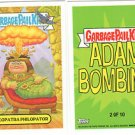"2014 GARBAGE PAIL KIDS BNS3 ""CLEOPATRA PHILOPATOR"" #2 STICKER-ADAM BOMBING"