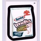 "2015 WACKY PACKAGES SERIES 1 ""BONETTES"" #43 STICKER! NM"