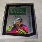 "WACKY PACKAGES CHROME SERIES 1 ""GHOUL CIGS"" #14 CUTTING ROOM FLOOR INSERT"
