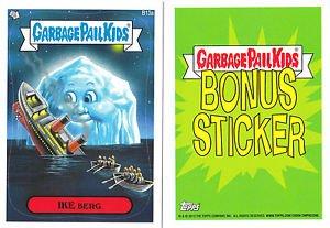 "2013 GARBAGE PAIL KIDS BRAND NEW SERIES 2 (BNS2) BONUS CARD ""IKE BERG"" B13a"