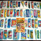 2013 WACKY PACKAGES ANS11 BLUE BORDER PARALLEL SET 1-55 + 1 WRAPPER! NICE