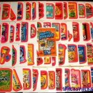 "2012 WACKY PACKAGES ALL NEW SERIES 9 {ANS9} COMPLETE ""PINK BORDER"" SET 55/55"
