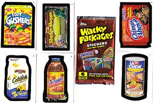 2004 WACKY PACKAGES ALL NEW SERIES 1 (ANS1) COMPLETE SET of 55 CARDS + WRAPPER