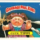 "1987 GARBAGE PAIL KIDS ORIGINAL 9TH SERIES ""CUTE TIPPI"" #335a STICKER CARD"