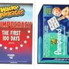 "2017 WACKY PACKAGES/GPK TRUMPOCRACY 1ST 100 DAYS ""PAMPERED"" #42 IN STOCK"