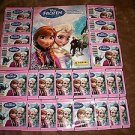 PANINI DISNEY FROZEN STICKER ALBUM W/10 STICKERS PLUS 24 SEALED PACKS-GREAT DEAL