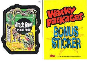 2006 WACKY PACKAGES ALL NEW SERIES 3 (ANS3) **MIRACLE-BONE** BONUS STICKER B5