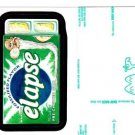 """WACKY PACKAGES 2015 SERIES 1 RARE GREEN LUDLOW BACK CARD """"ELAPSE"""" #56"""