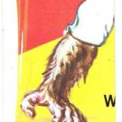 1975 WACKY PACKAGES ORIGINAL 13th SERIES PUZZLE PIECE W/CHECKLIST BL