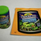 "WACKY PACKAGES ERASER SERIES 2 ""FROGRESSO SOUP"" ERASER & MATCHING STICKER #17"