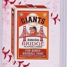 "2016 WACKY PACKAGES BASEBALL SERIES 1 LACE BORDER ""SF GIANTS PLAYING CARDS"" #21"