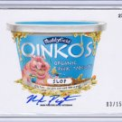 2015 WACKY PACKAGES SERIES 1 *OINKOS* ARTIST AUTOGRAPH by MARK PINGATORE 03/15