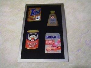 2014 WACKY PACKAGES CHROME SERIES 1  WACKY ADS #16 CARD
