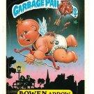 """1987 GARBAGE PAIL KIDS ORIGINAL 8TH SERIES """"BOWEN ARROW"""" #309b NM"""
