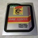 "2014 WACKY PACKAGES CHROME SERIES 1 CARD ""RAW LEAVES"" #86"