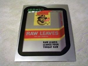 """2014 WACKY PACKAGES CHROME SERIES 1 CARD """"RAW LEAVES"""" #86"""