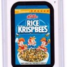 "2015 WACKY PACKAGES SERIES 1 ""RICE KRISPBEES"" #7 STICKER CARD"