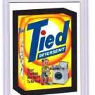 "2014 WACKY PACKAGES CHROME SERIES 1 ""TIED DETERGENT"" #26 REFRACTOR CARD NM"