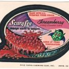 "1974 WACKY PACKAGES ORIGINAL 8th SERIES ""SCARY LEE"" STICKER"