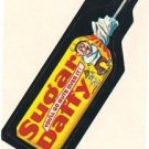 "1974 WACKY PACKAGES WONDER BREAD 2nd SERIES ""SUGAR DAFFY"" STICKER NM"