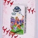 """2016 WACKY PACKAGES BASEBALL SERIES 1 LACE BORDER """"ASHEVILLE SELFIE STICK"""" #71"""
